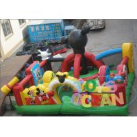 China Outdoor Playground Equipment Inflatable Bouncer Happy Hop Jumping Castle For Kids wholesale
