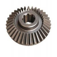 China Custom High Precision Steel Pinion Straight Tooth Bevel Gear 8.0mm - 200mm OD wholesale