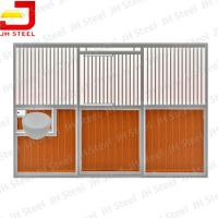 Buy cheap Hot Dip Galvanized European Horse Stalls , Portable Horse Box Stalls Large Size from wholesalers