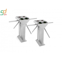 China 304 Stainless Steel Tripod Turnstile Gate Systems, Security Turnstyle Gates on sale