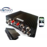 Buy cheap 4 Channel Car DVR GPS Dual SD Card Storage Local Playback H.264 Format from wholesalers