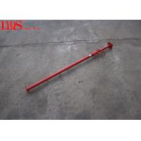 China Red Adjustable Building Props Scaffolding Prop Jack For Slab Formwork wholesale