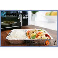 Quality Food Storage / Roasting Aluminium Foil Food Containers For Packaging , Stackable for sale
