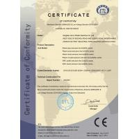 QINGDAO AORUI PLASTIC MACHINERY CO.,LTD1 Certifications