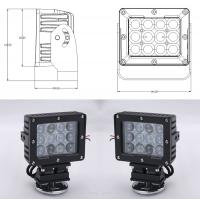Buy cheap 60W Square Vehicle LED High Power Driving Lights , 6500K 4800 Lumen 12 Volt Led from wholesalers