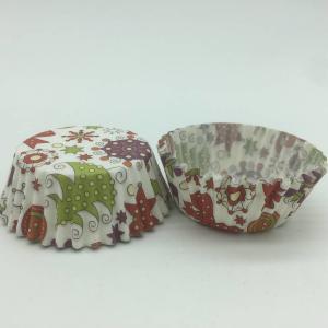 China Rose Pattern Mini Greaseproof Cupcake Liners Baking Cups Prime Pantry Bake Set wholesale