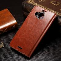 China Nokia 950XL Nokia Lumia Leather Case Anti - Dirty Light Weight Crazy Horse Material wholesale
