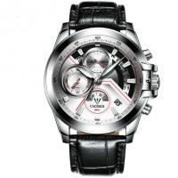 China CADISEN Men 3 Dial  Multifunction 1/10 Chronograph Quartz Wrist Watches  C9016 wholesale