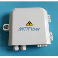 China FTTH 8 port PLC Fiber optic Splitter Box Wall pole Mounted Outdoor Distribution Box wholesale