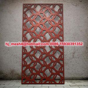 China Powder coating aluminum laser cut screen on sale