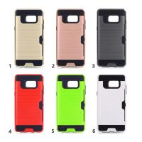 China Hard Plastic Tpu Hybrid Samsung Cell Phone Cases / Credit Card Holder For Phone wholesale