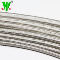 Quality Shower hose high pressure 304 stainless steel hydraulic hose fittings PTFE tube for sale