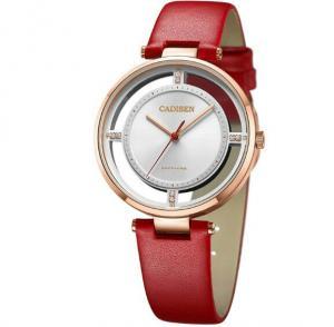 Quality Wholesale CADISEN Fashion Ladies High Grade sapphire Mirror Watch Creative for sale