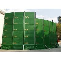 China Portable Noise Barriers 40dB noise absorption for Construction Site and Temporary Construction Fence wholesale