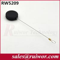 China Small Size Retractable Security Wire Round  Shaped With Loop Cable End wholesale