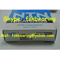 China 6206ZZ NTN Shielded Bearings Single Row Chrome Steel for Water Pump wholesale