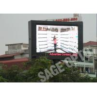 Quality IP67 Outside giant Outdoor Full Color LED Screen 3ft x 3ft Great Customized for sale