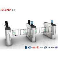 China Single / Bi Directional Swing Gate Turnstile High Speed With Face Recognition wholesale