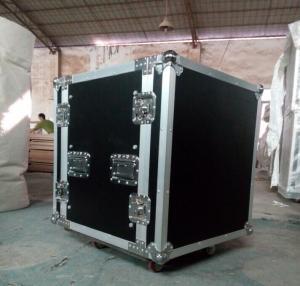 China Print Logo Rack Case AluminumTool Cases With Anti-shock Foam Inside wholesale
