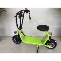 China Mini ELithium Electric Scooter With Seat HALI With Candy Colour / 350w Motor wholesale