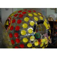 China Dia 2.8M Giant Inflatable Hamster Ball / Inflatable Bumper Ball For Holiday wholesale