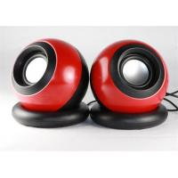 China Custom 2.0 Channel Mini Computer Speakers USB Powered With Volume Control wholesale
