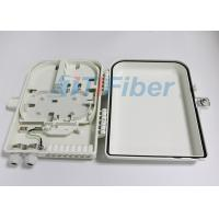 China 16 Core Fiber Termination Box , ABS Fiber Distribution Box For Ftth Network wholesale