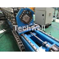 China 16 Stations Cold Roll Forming Machine With Rubber Belt Driven Servo Tracking Cutting Device wholesale