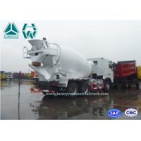 China Sinotruk Hydraulic System Concrete Mixer Truck With Fan Heater Zz1257N3841W on sale