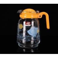 China Personalized Glass Water Kettle Glass Teapot And Cup Set Multi Purpose 1550 ML wholesale