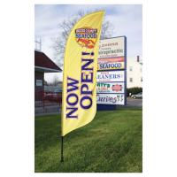 Quality Outdoor Flag Banners For Advertising for sale