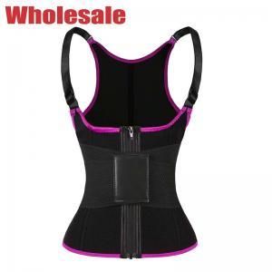 China Plus Size Sauna Vest Adjustable Belt Sweat Vest For Working Out wholesale