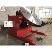 China 10 T 2 Axies Welding Turn Table , Foot Pedal Tilting Rotation Arc Welding Table wholesale