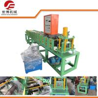 China Galvanized Colored Steel Plate Rolling Machine , Door Frame Making Machine wholesale