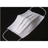 China Odourless Lint Free Disposable Medical Mask , Disposable Medical Mouth Cover wholesale