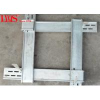 China Wedge Locking Column Form Clamps 2.9ft -3.9ft With 1847mm Total Length wholesale