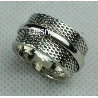 Buy cheap Unisex Gold Rhodium Cluster Western Jewelry Rings with Crystal Main Stone from wholesalers