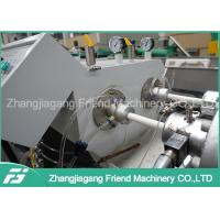 China PLC Control Electric Pvc Pipe Making Machine , Pipe Extrusion Equipment wholesale