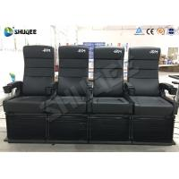 China 2DOF 4D Cinema Equipment For Update 3D Theater 50-150 Seats To Attract More People wholesale