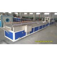 China PVC Trunk Plastic Profile Extrusion Line , PVC Wall Panel Plastic Profile Machinery wholesale