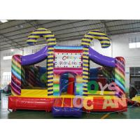 China Birthday Party Candy Activity Theme Inflatable Indoor Playground Bouncers wholesale