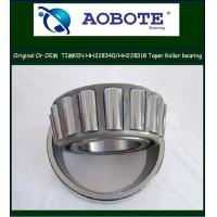 China Original USA Timken Tapered Roller Bearing made of chrome steel HH228340 / HH228318 wholesale