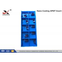 China Nano Coating Tungsten Carbide Inserts APMT1135 - H2 HRC55 Hard Material wholesale