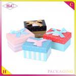 China Handmade paper gift packaging boxs wholesale