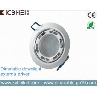 China 7w Ultra Thin Dimmable Led Downlight With 90mm Cutout And External Driver on sale