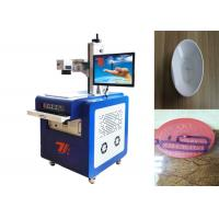 China UV Non Metallic / Metal Laser Engraving Machine Air Cooling 110*110mm Wavelength wholesale
