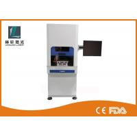 China Small PCB Plastic Plate UV Laser Marking Machine Water Cooling With Friendly Interface wholesale