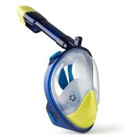China Full Face Snorkel Mask 180°View Scuba Snorkeling Diving Mask for Children and Kids wholesale