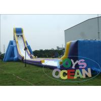 China Huge Fun Inflatable Outdoor Water Slide  Customize Security For Beach wholesale