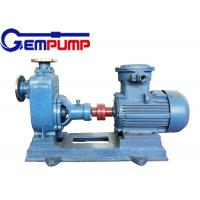 China ZXL Straight horizontal self-priming centrifugal pump for Municipal Construction fire control wholesale